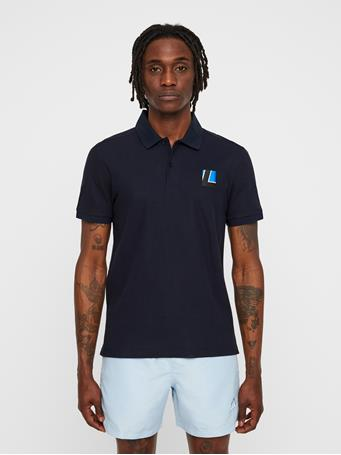 Brand Patch Pique Polo