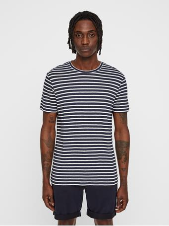 Coma Striped Linen T-shirt