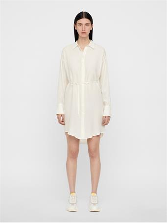 Nicoletta Sheer Shirt Dress