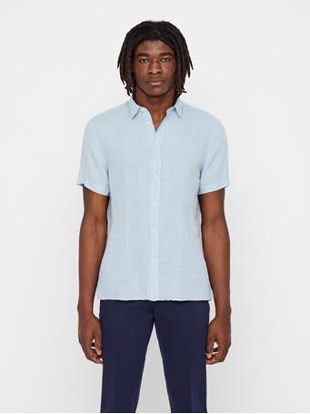 Daniel Short Sleeve Linen Shirt