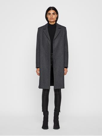 Annie Compact Melton Coat