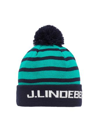 Striped Golf Beanie