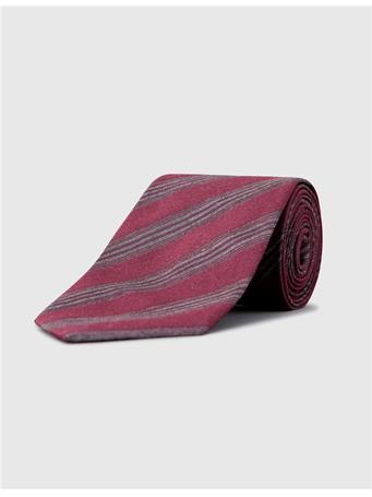 Lalle Warp Stripe Silk Tie