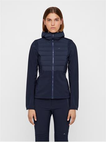 Vertex Hybrid Down Hooded Jacket