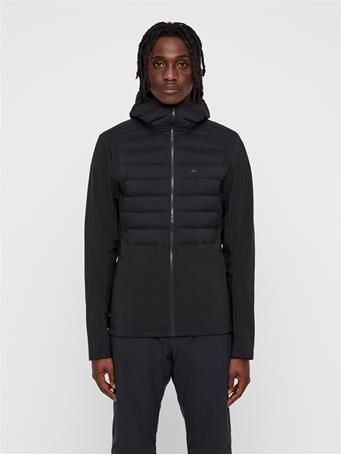 Vertex Hooded Hybrid Down Jacket