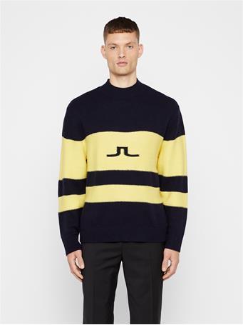 Bold Stripe Wool Sweater