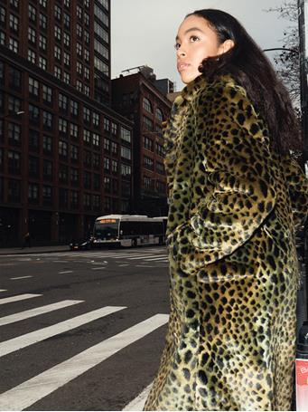 Carmen Faux Fur Coat