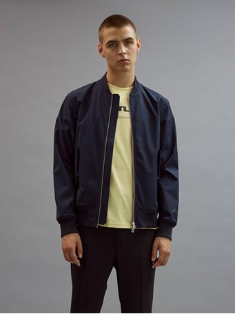 Barret Mechanical Stretch Bomber Jacket
