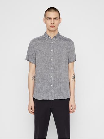Daniel Linen Melange Short Sleeve Shirt
