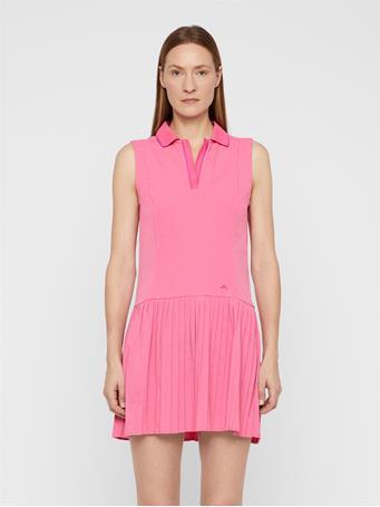 Cora High Vent Dress