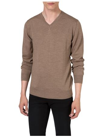 M Bridge V-Neck Fine Merino Sweater