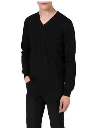 M Bridge V-Neck Fine Merino Sweater