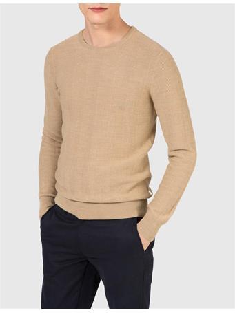 Damon Herringbone Knit Sweater