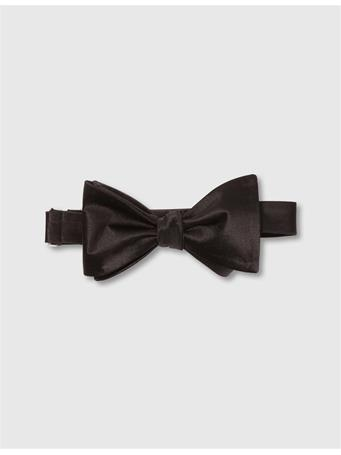 Open Bow-Tie Evening Satin