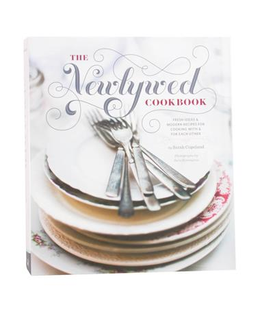 The Newlywed Cookbook Hardcover Maroon