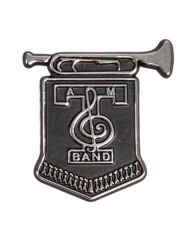 Fightin` Texas Aggie Band Auto Emblem Chrome