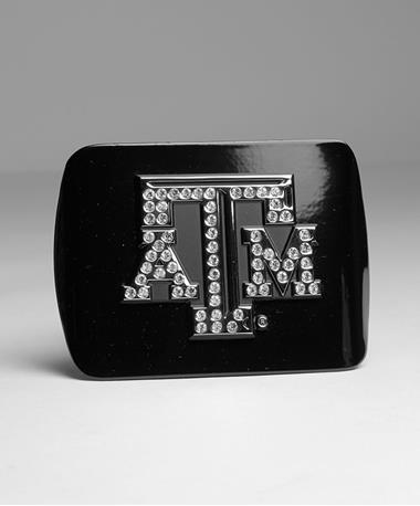 Texas A&M Aggie Hitch Cover Black Bling