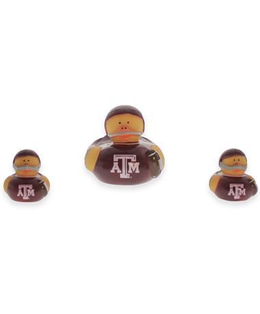 Texas A&M 3 Pack Rubber Ducks