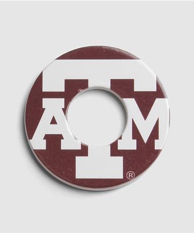 Texas A&M Aggie Washers - Maroon Maroon