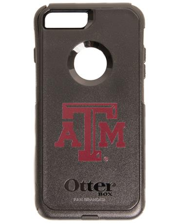 OtterBox Texas A&M iPhone 8 Plus/7 Plus Commuter Case Black