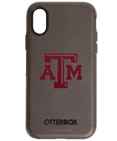 OtterBox Texas A&M iPhone X Symmetry Case Black