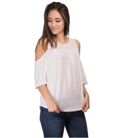 Women`s Oliana Top Angle White