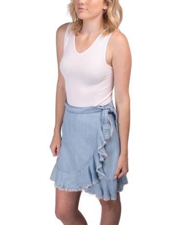 BB Dakota Women`s Jenelle Skirt - Outfit Light Blue