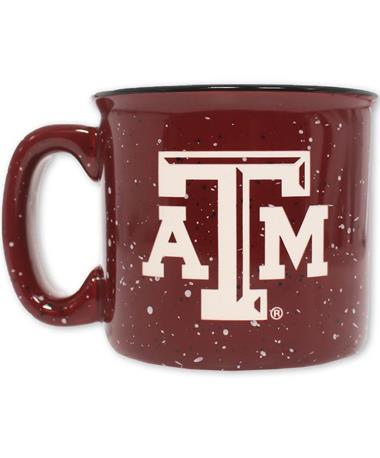 Texas A&M 12 oz CampFire Mug - Front Maroon
