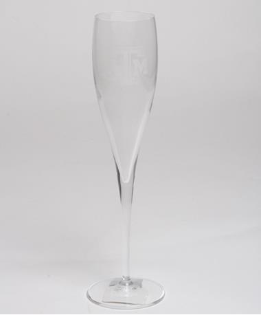 Campus Crystal Texas A&M 6oz Toast Glass Clear
