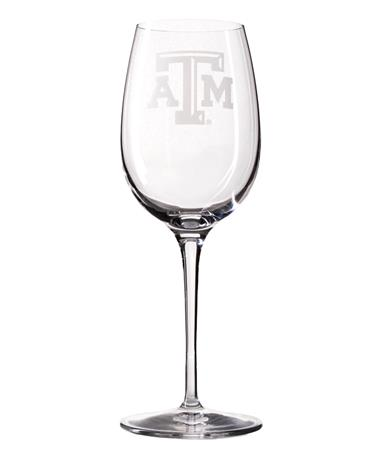Campus Crystal 12oz White Wine Glass Titanium