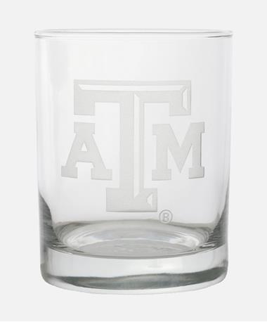 Campus Crystal Texas A&M RoundRock Glass Clear