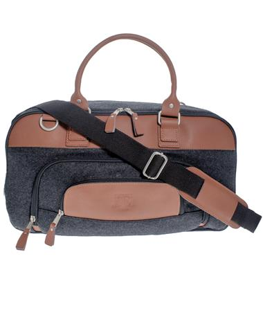 Texas A&M Canyon Brody Wool Duffle - Front Charcoal Grey