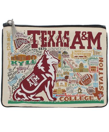 Texas A&M CatStudio Zip Pouch