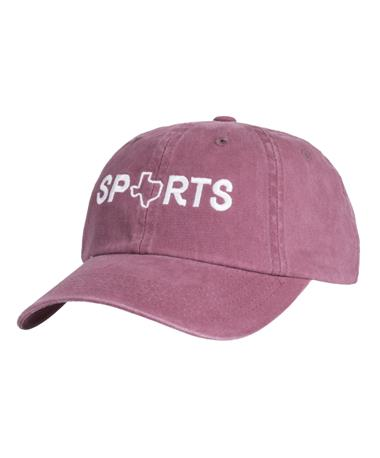 Charlie Southern State Sports Hat - Front Maroon