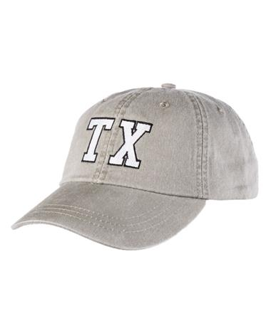 Charlie Southern TX State Outline Hat - Front Olive