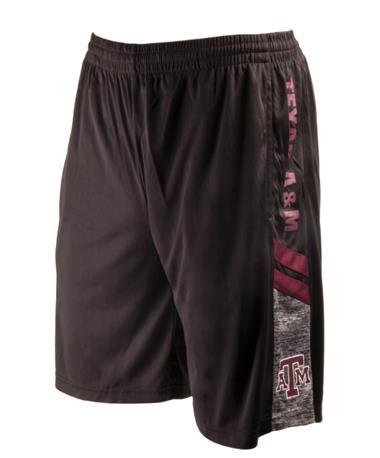 Colosseum Texas A&M Men`s Perfect Season Shorts Black