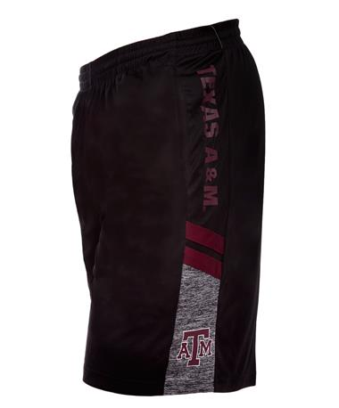 Colosseum Texas A&M Men`s Perfect Season Shorts - Angle Black