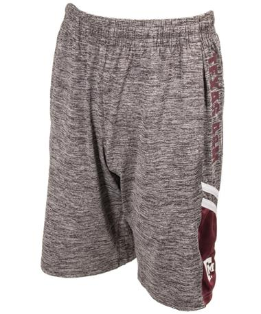 Texas A&M Youth Boys Summer School Short Front Charcoal