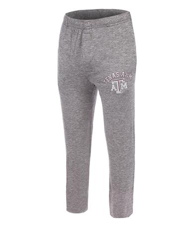 Texas A&M Aggie Men`s Layover Pant - Front Grey