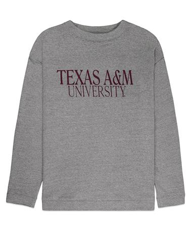 Texas A&M University Commit Sweatshirt - Front Grey