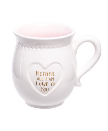 Mom Boxed Mug All I Am White