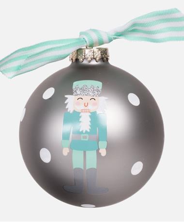 Coton Colors Nutcracker Boy Ornament Blue