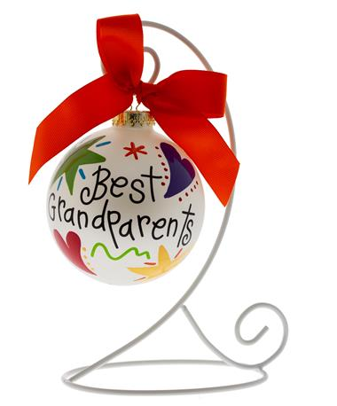 Coton Colors Best Grandparents Ornament