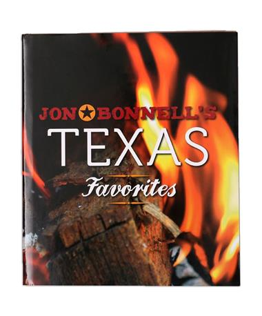 Texas Favorites Cookbook by Bonnell  - Front Multi