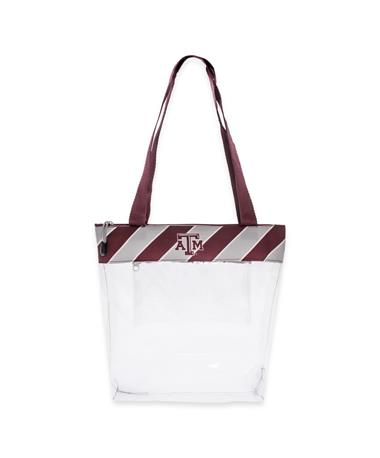 Texas A&M Gig 'Em Zippered Stadium Tote