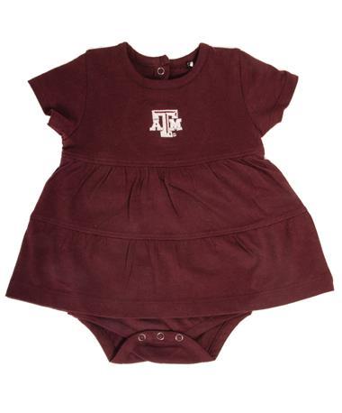 Garb Texas A&M Infant Jasmine Dress Maroon