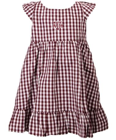 Garb Texas A&M Aggie Gigi Toddler Dress Maroon
