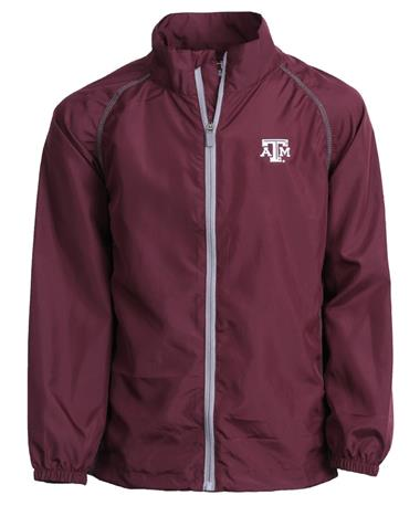 Garb Texas A&M Youth Griffin Rain Jacket Maroon