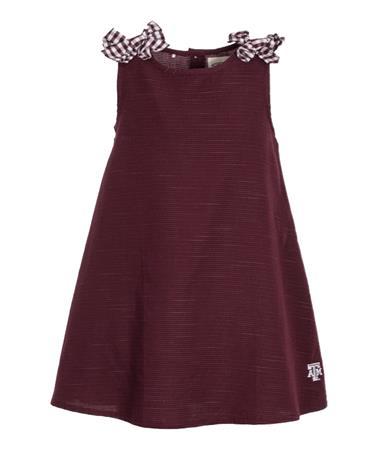 Garb Texas A&M Youth Mabel Dress Maroon