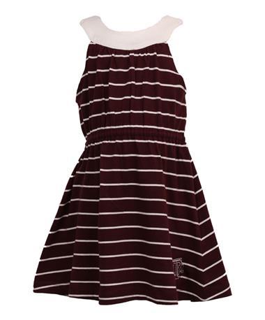 Garb Texas A&M Aggie Youth Sarah Dress Maroon